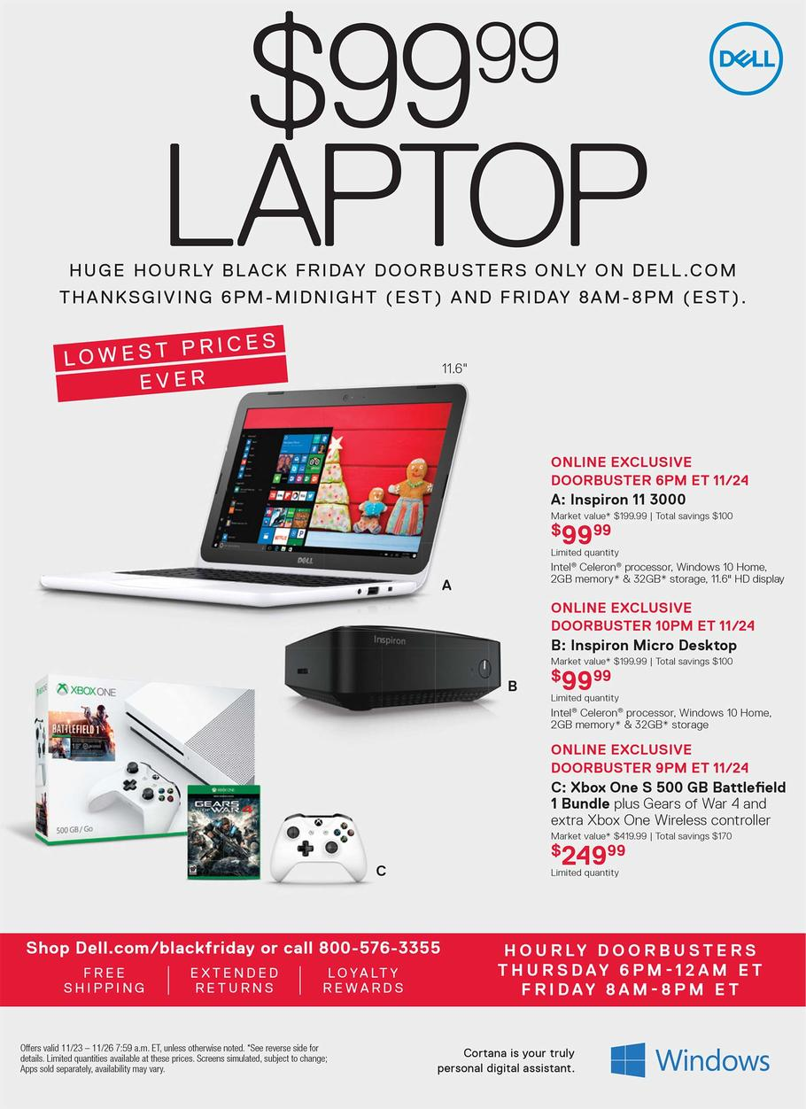 Dell Home Black Friday page 1